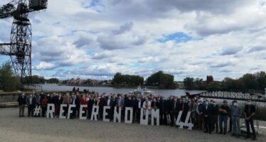 Élu(e)s : rejoignez les 150 signataires du courrier à E. Macron pour la demande de referendum sur la réunification